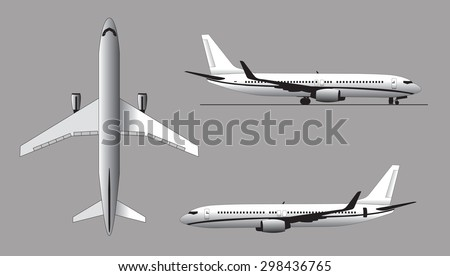 Airplanes - stock photo