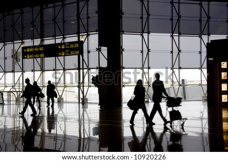 airport 7 - stock photo