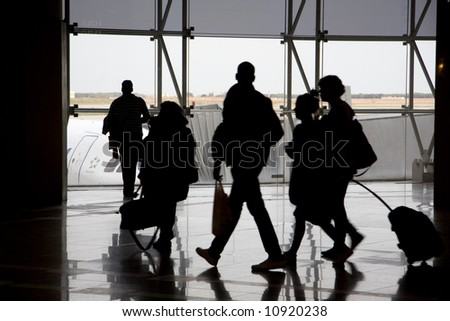 airport 12 - stock photo