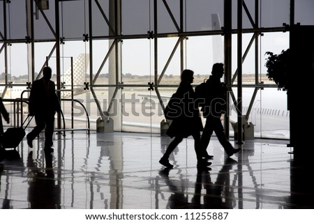 Airport15 - stock photo