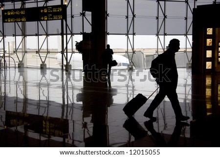 Airport 19 - stock photo