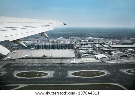 Airport - stock photo