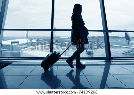 airport - stock photo