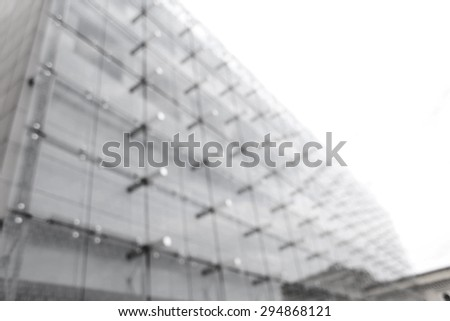 Airport blurred background people - stock photo