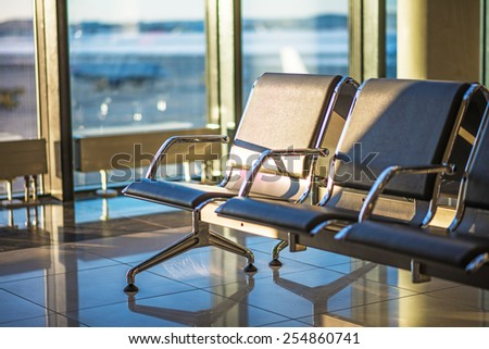 Airport Seating - stock photo