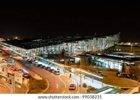 Airport Terminal Stuttgart - stock photo