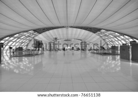 Airport ,thailand - stock photo