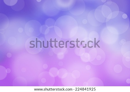 Airy background with bokeh and other lights effect on pink and purple - stock photo