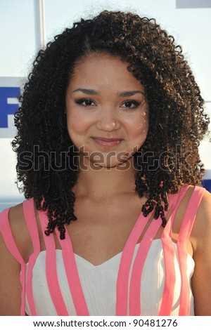 Aisha Dee at the Fox TV Summer 2011 All-Star Party at Gladstones Restaurant, Malibu. August 5, 2011  Malibu, CA Picture: Paul Smith / Featureflash - stock photo