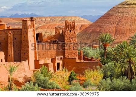 Ait Ben Haddu Marocco - stock photo