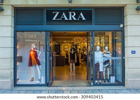 Store front stock images royalty free images vectors shutterstock - Magasin zara aix en provence ...