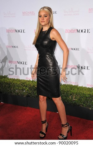AJ Michalka at the 8th Annual Teen Vogue Young Hollywood Party in partnership with Michael Kors at Paramount Studios, Hollywood. October 1, 2010  Los Angeles, CA Picture: Paul Smith / Featureflash