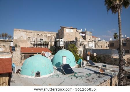 Akko, Acre old city - stock photo
