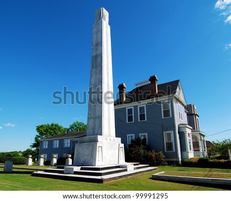 Alabama War Memorial in Montgomery, Alabama / Monumental Home - stock photo