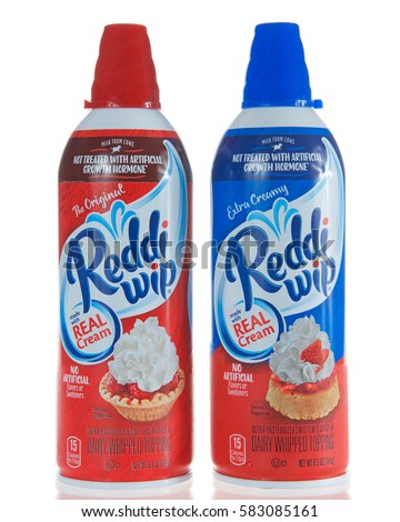 Whip cream can