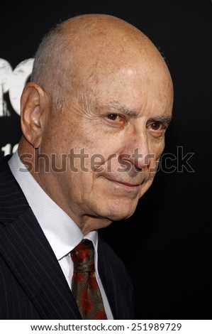 "Alan Arkin at the Los Angeles premiere of ""Argo"" held at the AMPAS Samuel Goldwyn Theater in Los Angeles, United States on October 4, 2012."