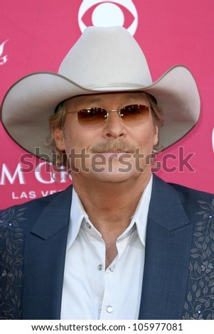 Alan Jackson at the 44th Annual Academy of Country Music Awards. MGM Grand Garden Arena, Las Vegas, NV. 04-05-09
