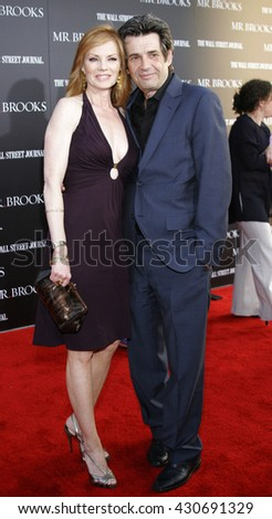 Alan Rosenberg and Marg Helgenberger at the Los Angeles premiere of 'Mr. Brooks' held at the Grauman's Chinese Theater in Hollywood, USA on May 22, 2007.