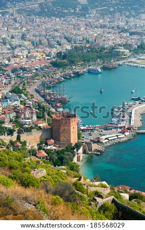 Alanya city  - stock photo