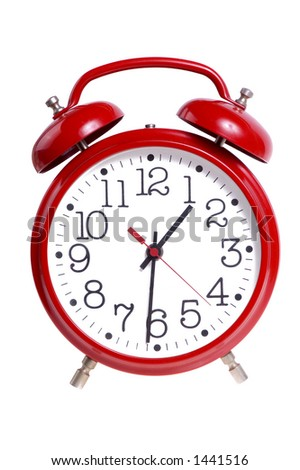 Alarm Clock - stock photo