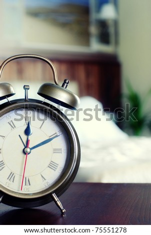 alarm-clock - stock photo