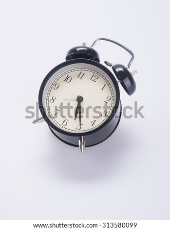 alarm clock. alarm clock on background.