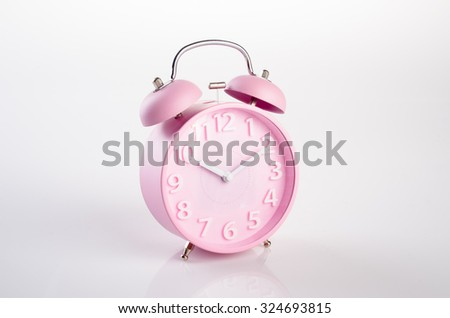 alarm clock. alarm clock on background. alarm clock on the background - stock photo