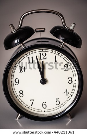 Alarm clock watch