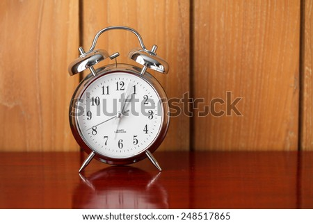 alarm table clock  - stock photo