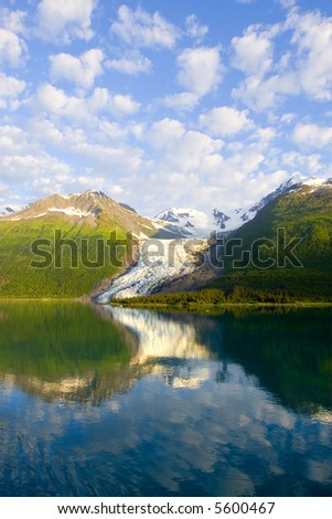 Alaska's Glacier Bay - stock photo