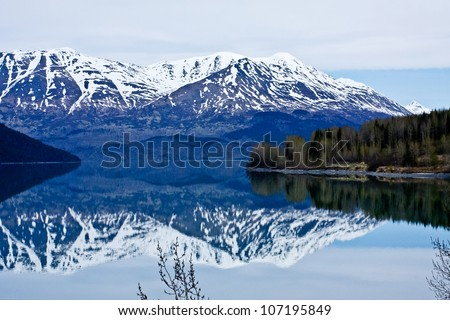 Alaska's Kenai Peninsula - stock photo