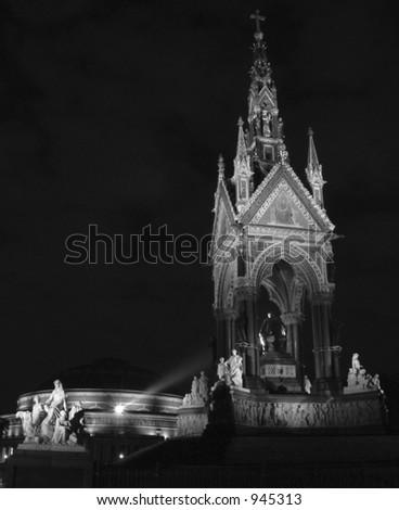 Albert Memorial - stock photo