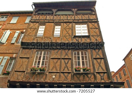 Albi (Midi Pyrenees, France) - Old typical house