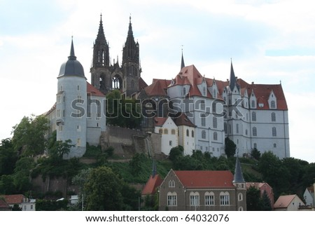 Albrechsburg in Meissen Germany