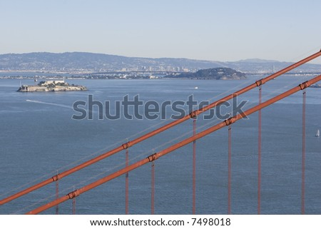 Alcatraz Cable - stock photo