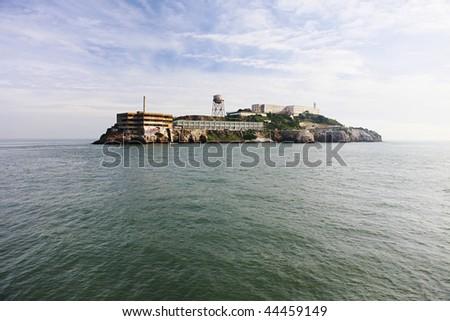 Alcatraz Island, National Park, California, United States - stock photo