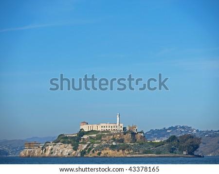Alcatraz Island of San Francisco - stock photo
