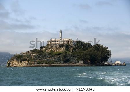 Alcatraz Island San Francisco - stock photo