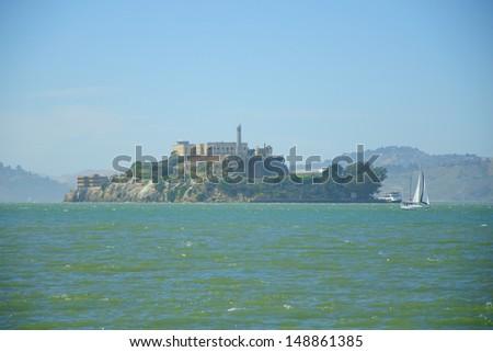 Alcatraz Prison, San Francisco, California - stock photo
