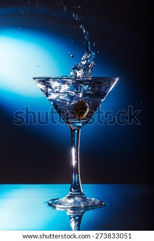 Alchoholic, alcohol, beverage. - stock photo