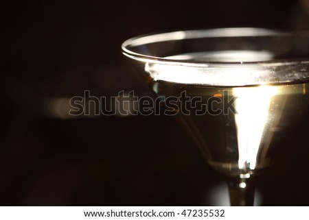 alcohol cocktail - stock photo