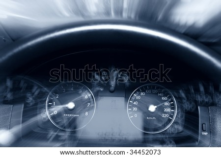 Alcohol on the road - stock photo