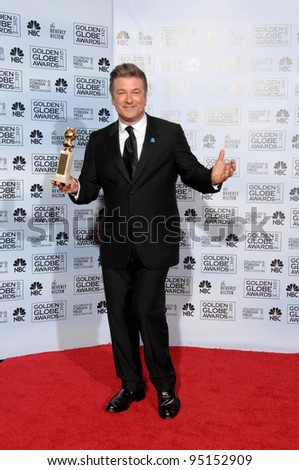 ALEC BALDWIN at the 64th Annual Golden Globe Awards at the Beverly Hilton Hotel. January 15, 2007 Beverly Hills, CA Picture: Paul Smith / Featureflash - stock photo