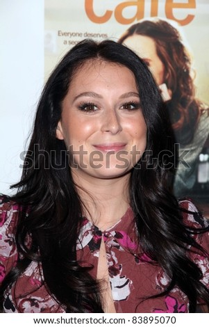 "Alexa Vega at the Los Angeles Premiere of ""Cafe,"" Laemmle Sunset 5, Los Angeles, CA. 08-18-11"