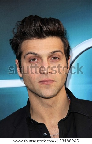 """Alexander DiPersia at """"The Host"""" World Premiere, Arclight, Hollywood, CA 03-19-13 - stock photo"""