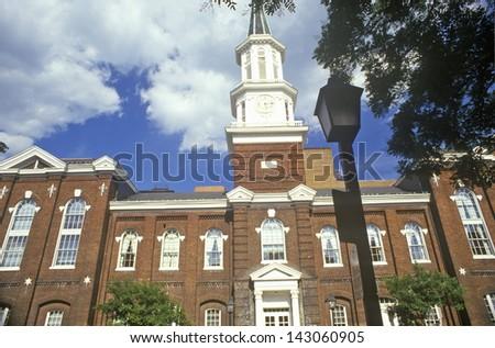 Alexandria City Hall in Old Town Alexandria, Alexandria, Washington, DC - stock photo