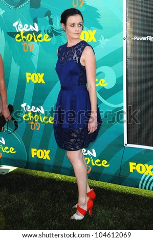 Alexis Bledel at the Teen Choice Awards 2009. Gibson Amphitheatre, Universal City, CA. 08-09-09