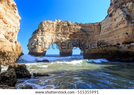 Algarve, Portugal Postcard