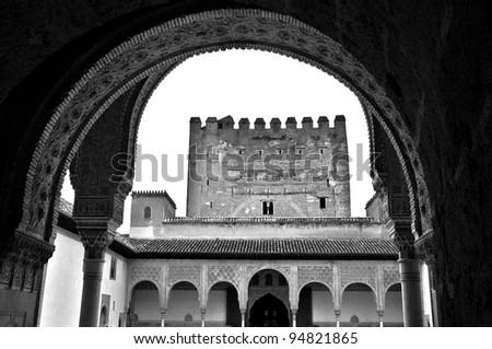 Alhambra, Granada - stock photo