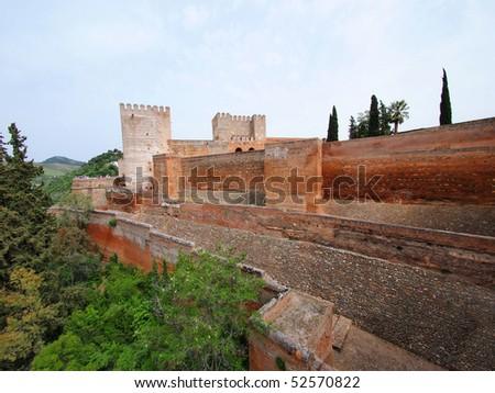 Alhambra, Granada, Spain - stock photo